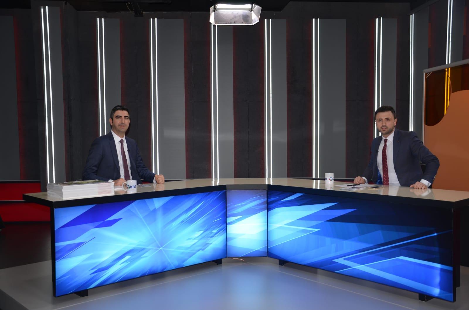 Gökhan Yüksel, KRT TV canlı yayınına konuk oldu