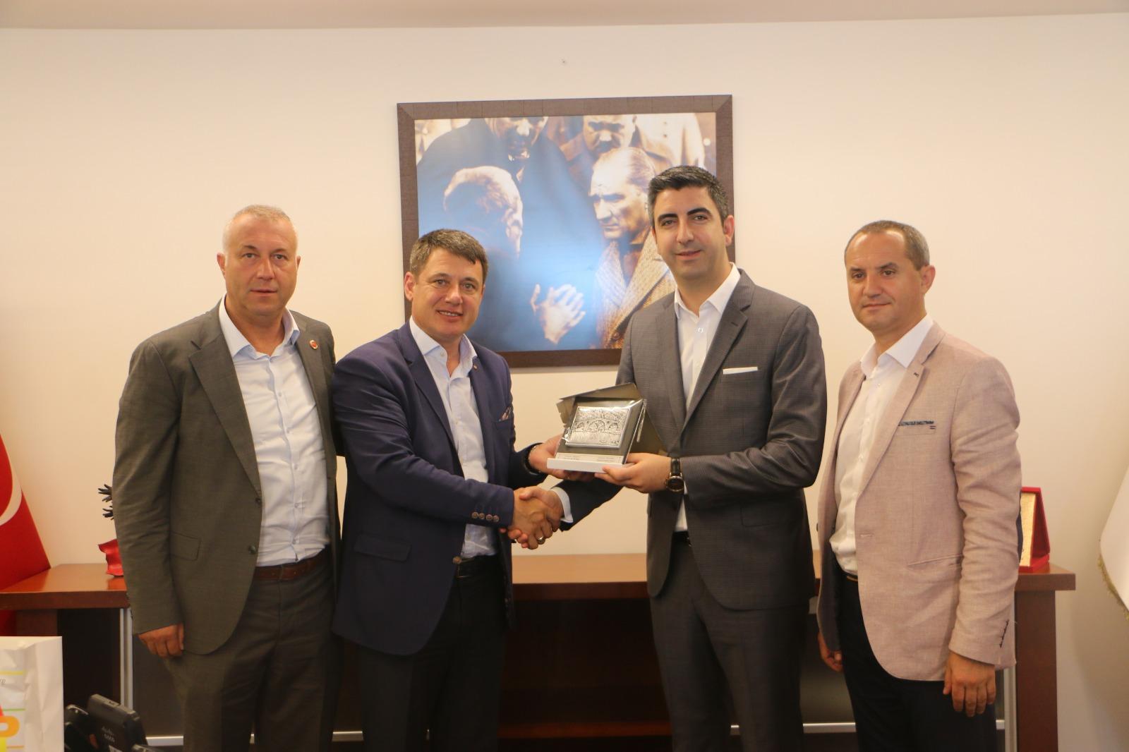 Ardino Belediye Başkanı Resmi Murad'dan Başkan Gökhan Yüksel'e ziyaret