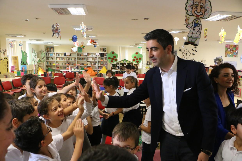 """Başkan Gökhan Yüksel'den Çocuklara """"Eğlenceli Çocuk Kütüphanesi"""" Müjdesi"""