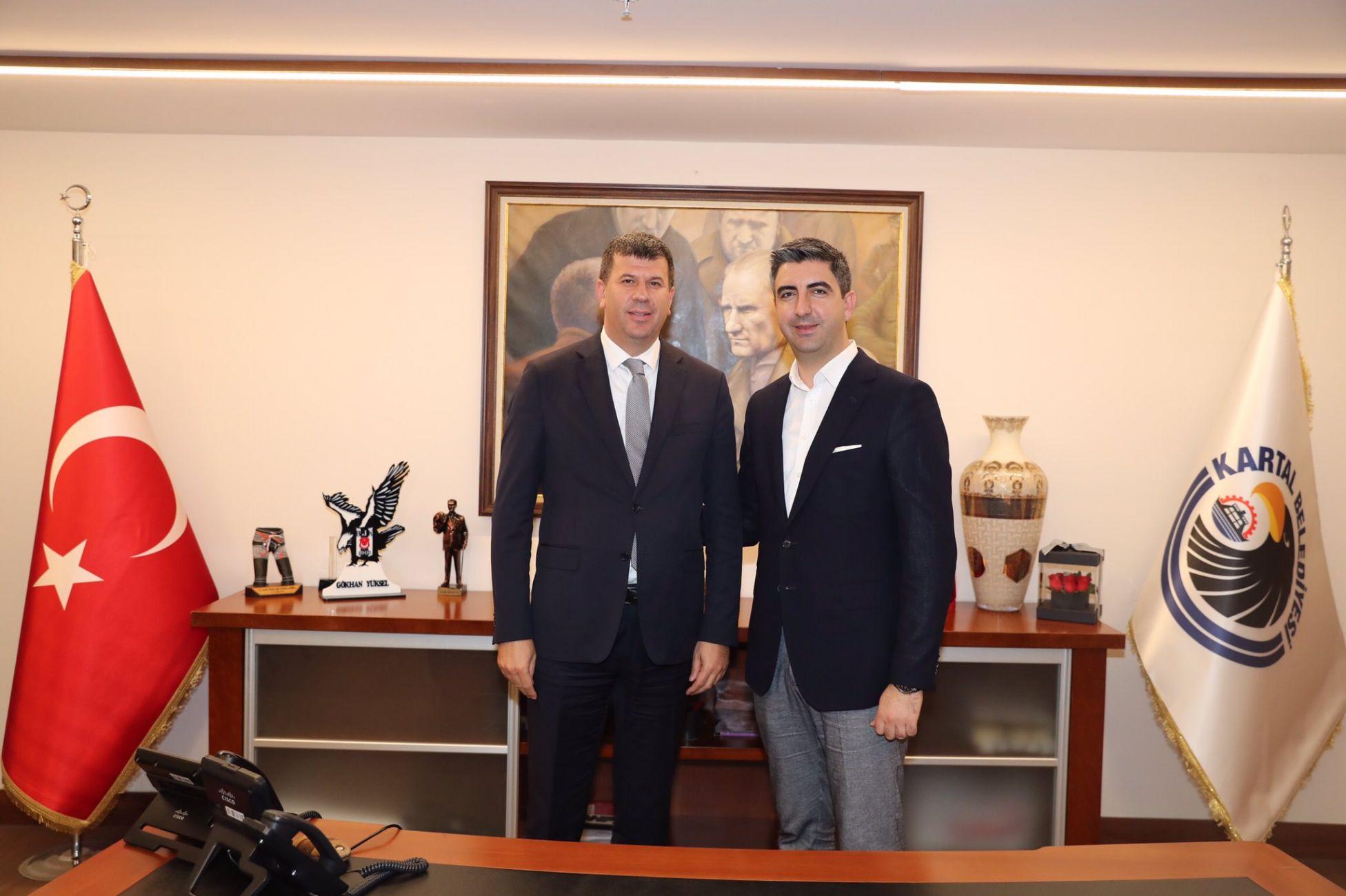 Kadıköy Belediye Başkanı Şerdil Odabaşı'ndan Başkan Gökhan Yüksel'e Ziyareti