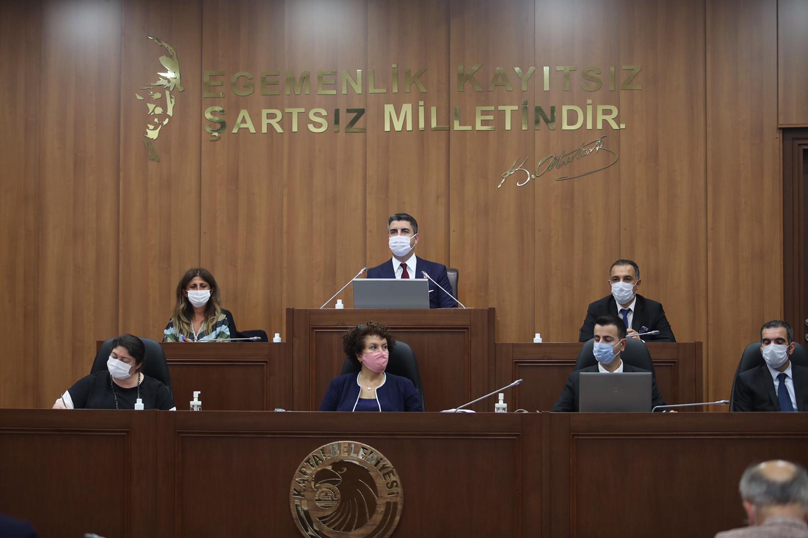 Kartal Belediyesi'nde Pandemi Sonrası İlk Meclis Toplantısı Yapıldı